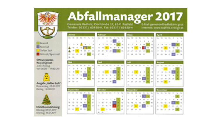 Abfallmanager 2017