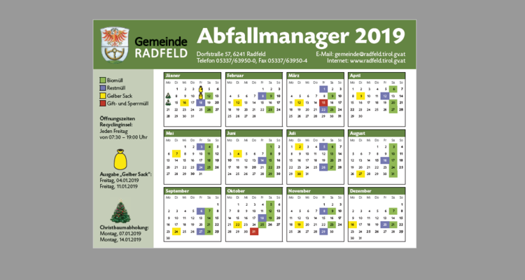 Abfallmanager 2019
